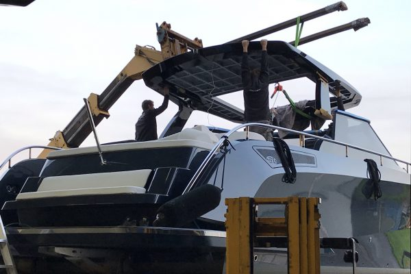 installatie dak op cruiser