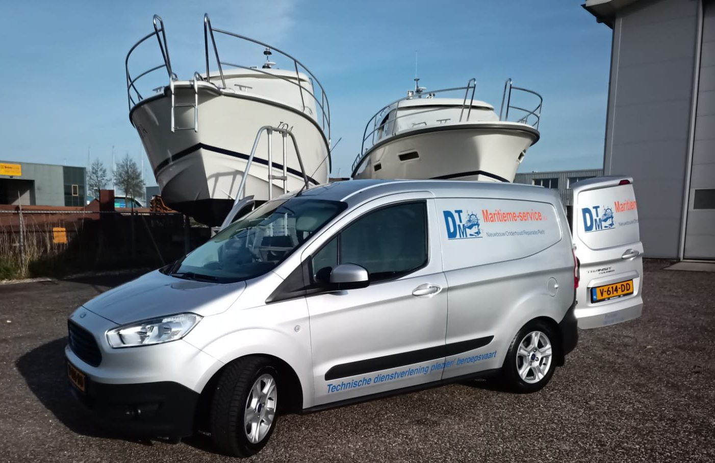 DTM jachtservice auto en boten